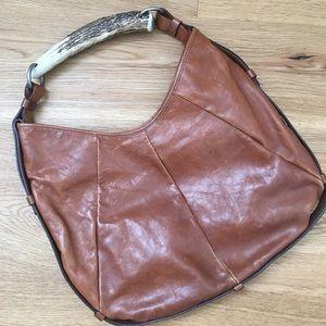 YSL  Mombasa horn handle shoulder bag.